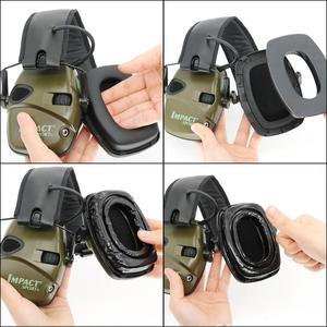Image 5 - Gel Ear Pads for Howard Leight By Honeywell Impact Sport Earmuff Tactical Headset Electronic Shooting Earmuffs