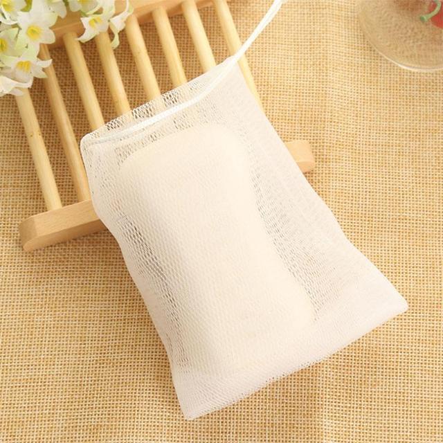 10 pièces savon maille savon moussant filet bulle maille sac peau propre outil dag-ship