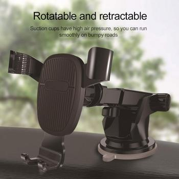 Universal Gravity Car Phone Holder Car Air Vent Mount Car Holder For IPhone 8 X XS Max Samsung Xiaomi Mobile Phone Holder Stand image