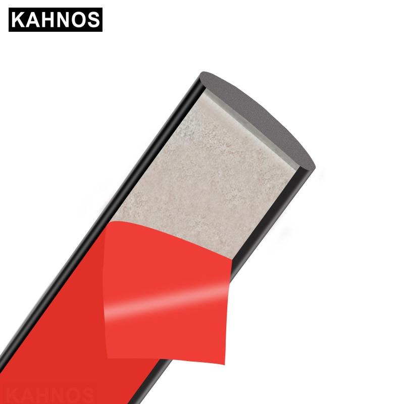 Автомобильный герметик для окон KAHNOS, треугольная уплотнительная полоса для защиты от солнца на крышу автомобиля, обшивка лобового стекла с...