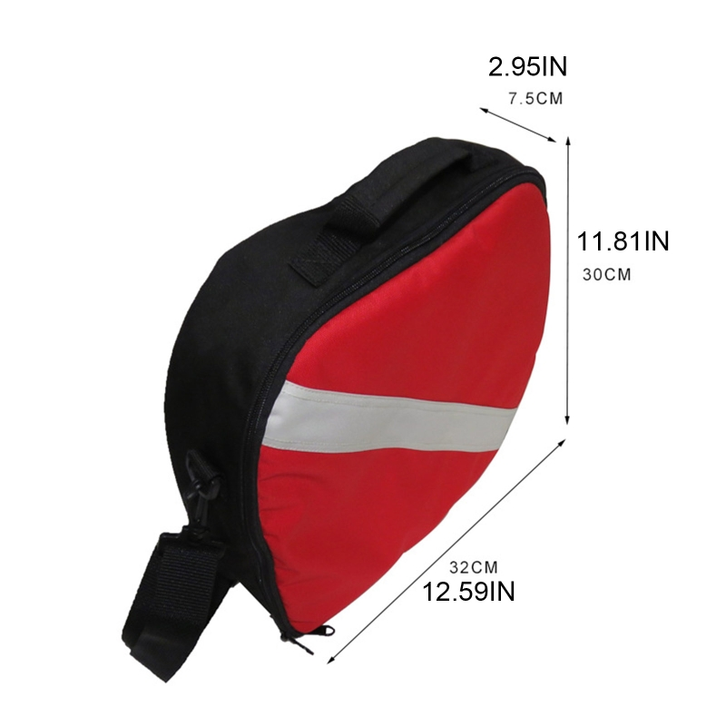 Scuba Diving Regulator Bag First Stage and Second Stage Headgear Breathing Bag W0YB