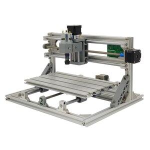 Image 4 - Mini Laser CNC Machine de gravure CNC 3018 Laser graveur outils de découpe GRBL 10W Laser Cutter bois routeur CNC 3018 2in1 graveur