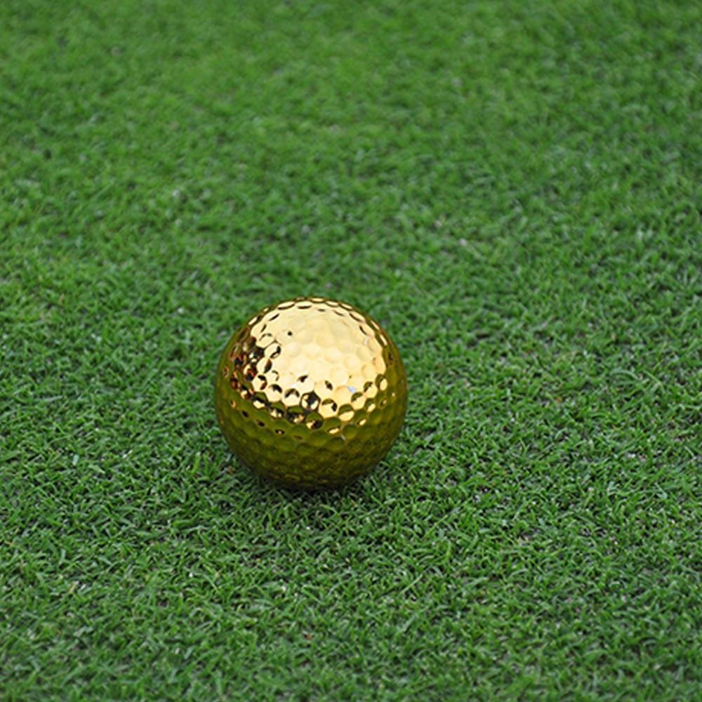Unikatne srebrne zlate žogice za golf za vadbene žoge za golf v - Golf - Fotografija 2