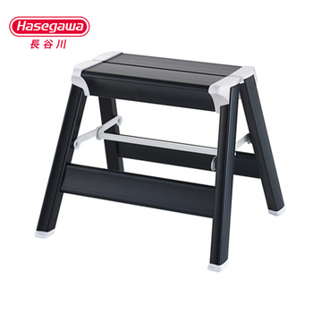Hasegawa ladder stool Japan aluminum alloy thickened multifunctional photography household folding lightweight