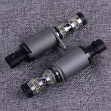 Car 2PCS Camshaft CAM Position Actuator Solenoid 55567050 967488028 12992408 Fit for Chevrolet Cruze Aveo Accessories(China)