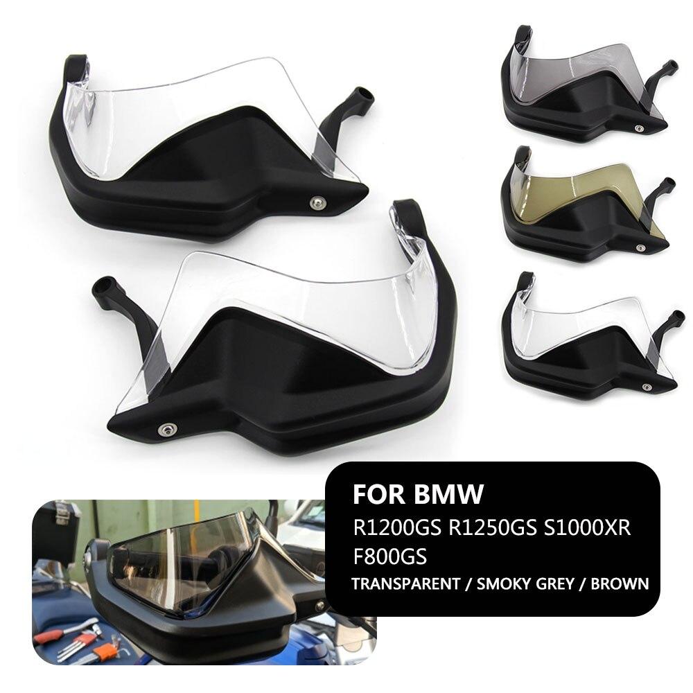 Para BMW accesorios de la motocicleta R 1200 GS ADV-R1250GS LC F 800 GS aventura S1000XR guardamanos escudo manual Protector de parabrisas