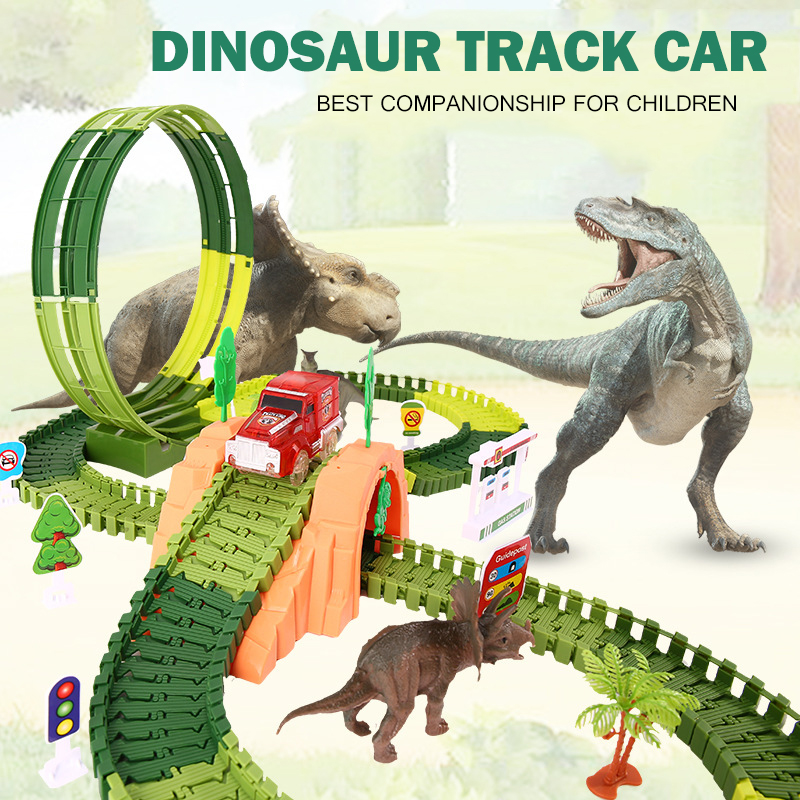 5.5cm Racing Track Toy Universal Accessories For Magic Glowing Track Educational Rail Car Toy Tracks Toys For Children Gifts Diy