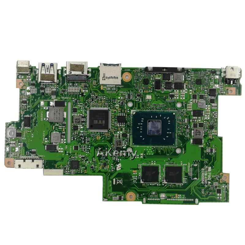 עם 4G RAM + 128G SSD 4 ליבות מעבד לוח אם למחשב נייד ASUS E203N E203NA מחשב נייד מבחן בסדר