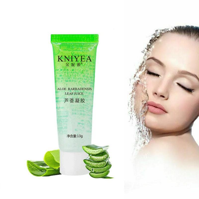 Pure Aloe Vera Gel Hyaluronic Acid Moisturizing Sunscreen Repair Gel Plant Foundation Moisturizing Cream