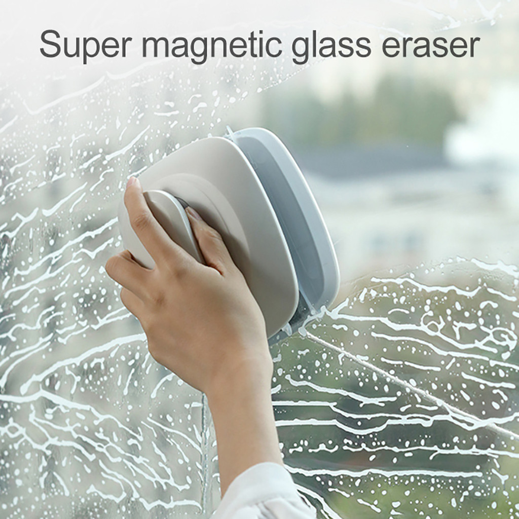 Double-sided Magnetic Window Cleaner for Glider Washing Glass Cleaning Brush Dropshipping Winter 2020 decoration Accessories too