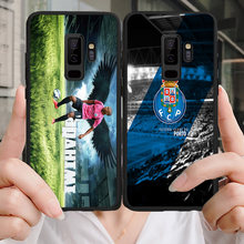 Yinuoda Phone Case For Porto FC Samsung Galaxy Shell Note4 A7 A8(2018) A9 Black Soft TPU Cover For FC Porto J2Pro J4 J6 J7 Note5(China)