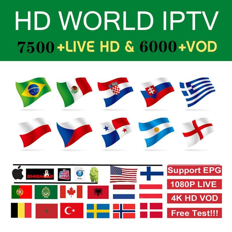 Europe Iptv Subscription Italian French Polish Belgium Turkish Canada Portugal UK Iptv Code Hot Club Xxx Stable Iptv M3u