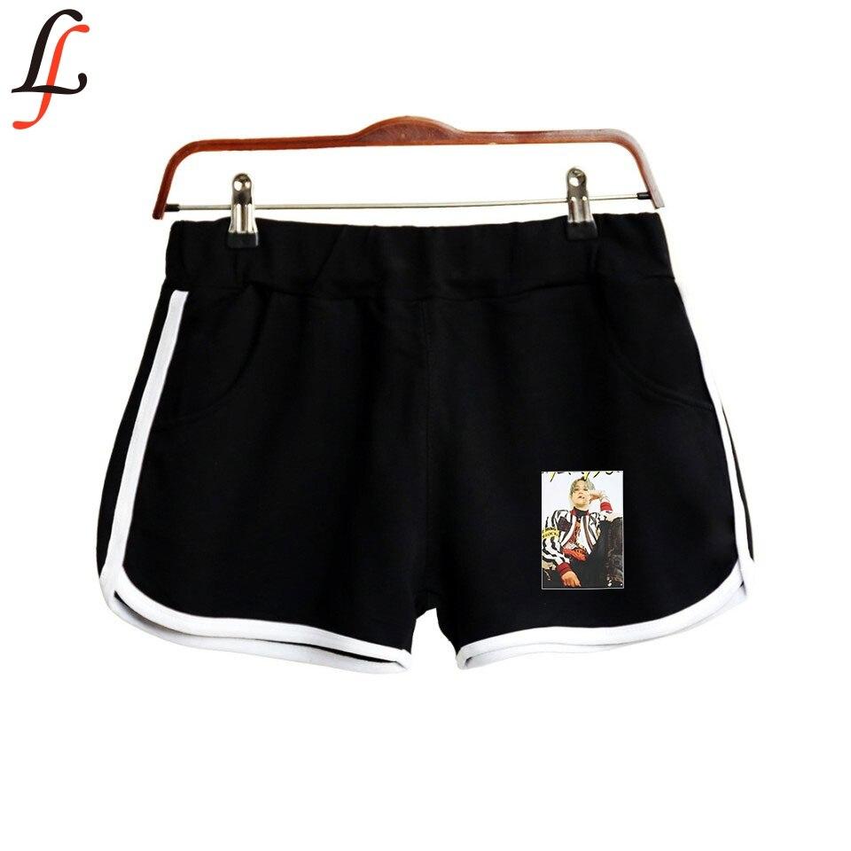 SuperM Women Shortpant K Pop Casual Fitness Fashion Short Pocket Harajuku All-match Solid Soft Short Tracksuit