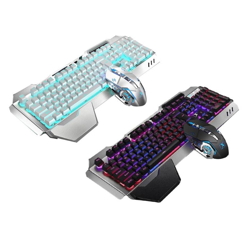 Hot Sale Keyboard Mouse Delicate Design K680 2.4G Wireless Gaming Rechargeable Backlit Mechanical Feel Keyboard Mouse