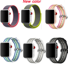 strap for apple watch Sport loop nylon band series 5/4/3/2/1 bracelet for iwatch wristband 38mm 42mm 40mm 44mm woven nylon sport strap for iwatch 5 woven sport loop band for apple watch band 38mm 40mm for iwatch bands 42mm 44mm series 5 4 3 2 1
