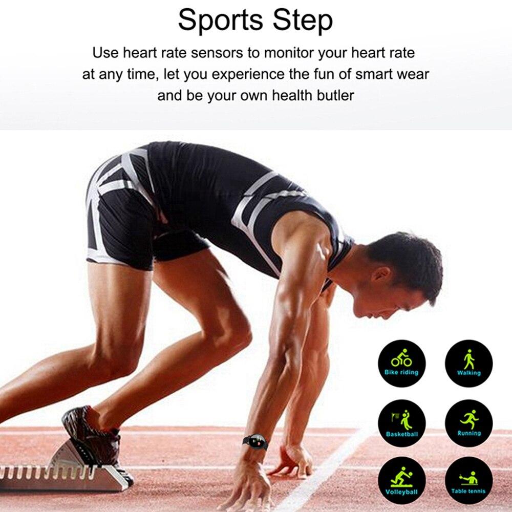 Femperna Smart Watch Men Women Full Touch Screen Waterproof Heart Rate Blood Pressure Monitor Men's Watch For Android IOS
