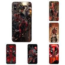 Impressão suave Capa Para Huawei Honor 5A 6A 6C 7A 7C 7X8 8A 8C 8X9 9X10 10i 20 Lite Pro Quadrinhos Deadpool Clássico
