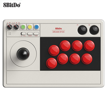 Bitdo-Joystick dinámico para Arcade, botón dinámico, Ultimate Software Turbo Bluetooth, 2,4G y...