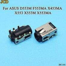 цена на JCD 1pcs/lot New Laptop DC POWER JACK Socket for ASUS D553M F553MA X453MA X553 X553M X553MA series CHARGING PORT CONNECTOR