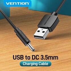 Vention USB к DC 3,5 мм зарядный кабель USB A папа к 3,5 разъем 5 в блок питания зарядное устройство адаптер для usb-хаб кабель питания