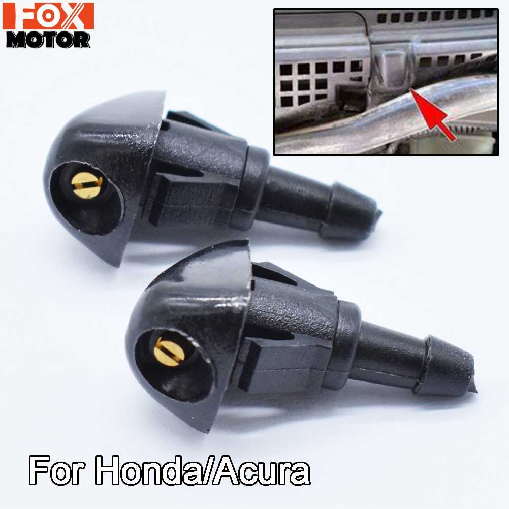Front Windscreen Washer Nozzle Jet Spray For Honda Accord Civic 6 7 Fit Jazz CR-V Prelude Shuttle For Acura TSX OE#76810-SEA-A01