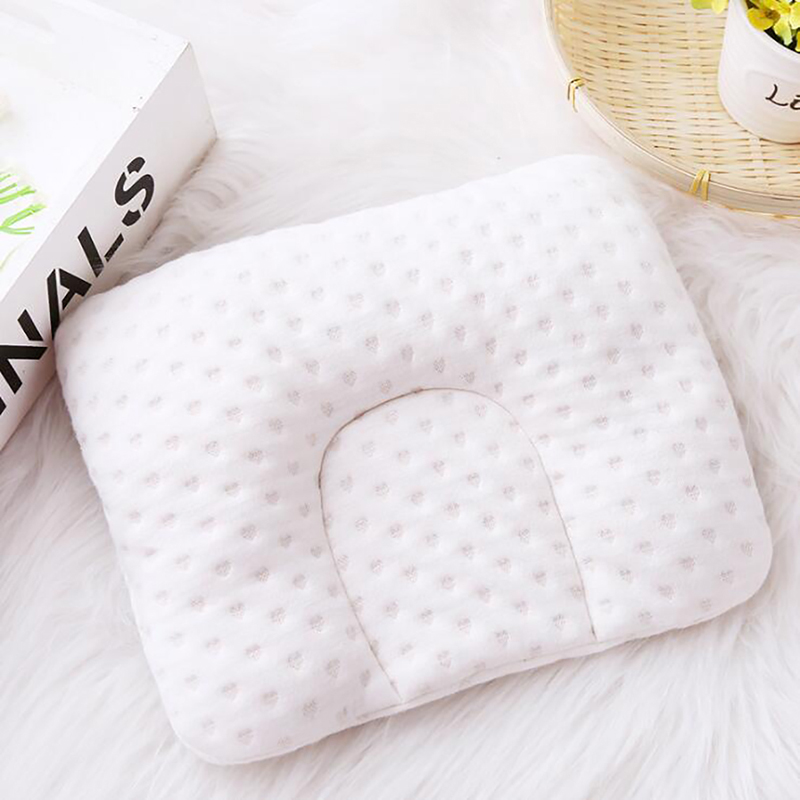 Newborn Infant Baby Pillow Newborn Infant Comfortable Cushion Prevent Flat Head