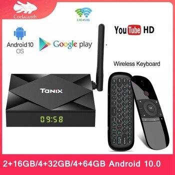 Tanix TX6S TV Box Allwinner H616 Android 10.0 Tv Box 4GB RAM 32GB 64GB ROM Smart Set Top Box Quad Core 4K Media Player android 8 1 tv box r tv box s10 plus rk3328 quad core 4gb 32gb wifi 4k h 265 usb3 0 smart set top tv box
