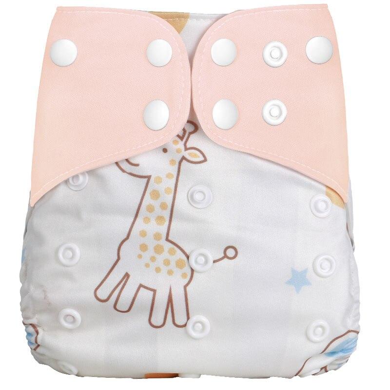 [Simfamily] 1 шт. многоразовые тканевые подгузники, регулируемые детские подгузники, моющиеся подгузники, подходят для 3-15 кг детские подгузники - Цвет: NO23