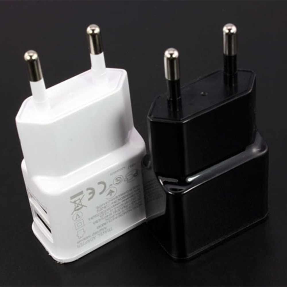 5V 2A Cắm KÉP ĐÔI Củ Sạc USB Dành Cho Iphone Ipad Ipod Đa Năng Di Động Sạc Điện Thoại Treo Tường AC Sạc dành Cho Xiaomi Samsung