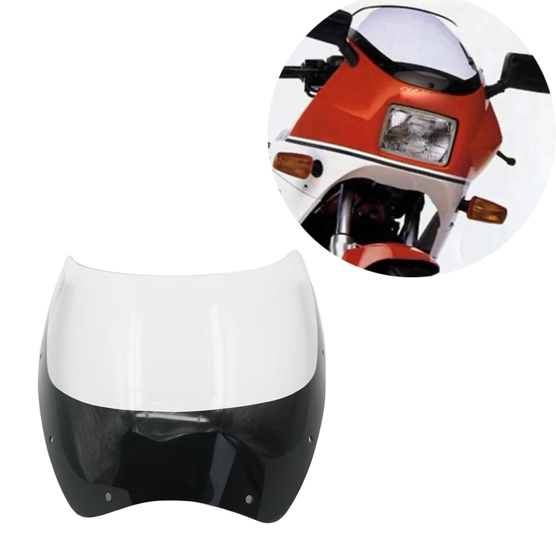For <font><b>Yamaha</b></font> RD250 RZ350 RZ250 RZ <font><b>RD</b></font> <font><b>350</b></font> 250 RD350LC RD250LC Motorcycle Windshield Windscreen Front Glass Wind Shield Deflectors image