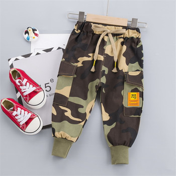 Spring  Kids Pants Toddler Boys Autumn Boys Loose Camouflage Trousers Sweatpants Casual Long Pants Trousers Overalls Pants
