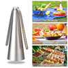 1Pc Portable Fly Repellent Fan Food Protector Fly Destroyer Flies Bugs Food Pest Repellent Table Fan Outdoor Kitchen Supplies