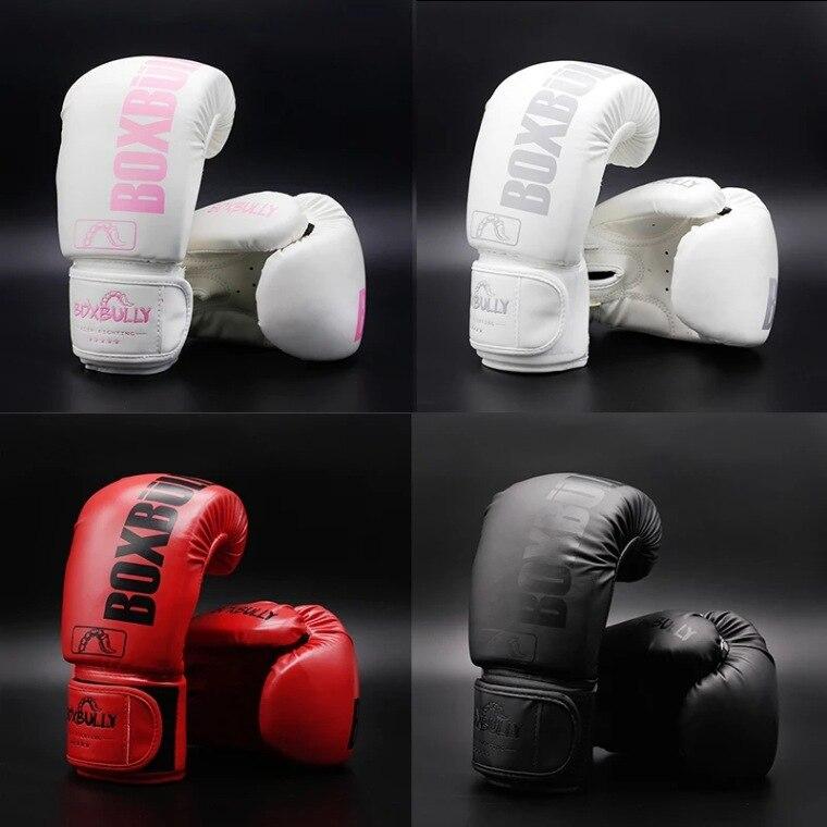 Children's Adult Boxing Gloves Sanda Boxing Gloves for Men and Women Muay Thai Boxing Training Gloves