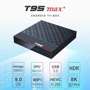 Image 3 - T95 MAX Plus Smart TV Box S905X3 64 Bit Android 9.0 4GB ROM 64GB RAM TVBox 2.4G+5G Dual band WiFi UHD 8K Media Playr PK X96 Air