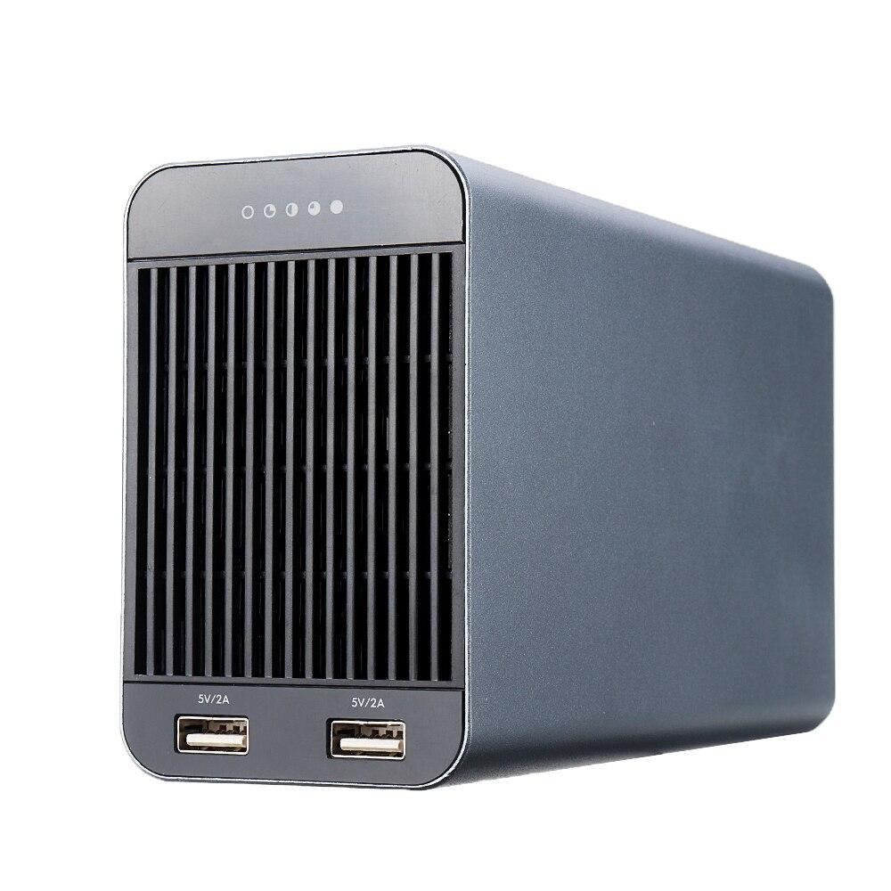 ISDT SP2417 BattGo 400W 17A indicateur LED adaptateur d'alimentation intelligent avec double sortie de charge USB pour chargeur IDST Q6