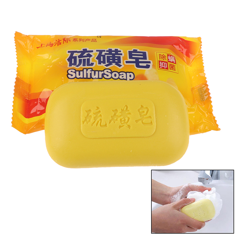 Shanghai Sulfur Soap Acne Treatment Blackhead Remover Soap Whitening Cleanser Oil-control Chinese Traditional Skin Care