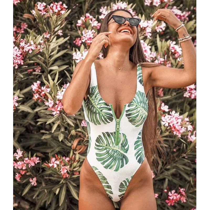 Seksi bikini seksowne stroje kąpielowe kobiety pływanie jednolity, bez pleców lato Strappy jeden kawałek strój kąpielowy bikini Traje de Baño