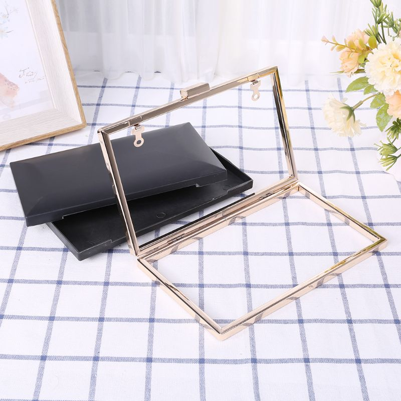 Metal Frame Box Purses Handles For DIY Handbags Evening Bag Clutch Accessories