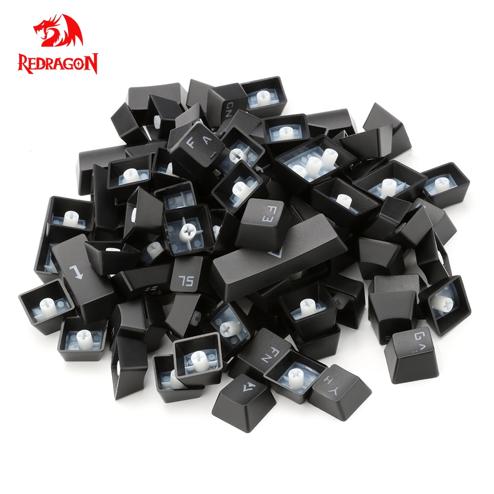 Redragon 87 Russian Key Caps For Mechanical Keyboard Key Caps For Cherry MX Style Mechanical Keyboard Including Key-puller