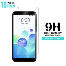 10 Pcs Tempered Glass For Meizu M8c Screen Protector 2.5D 9H Premium Protective Film