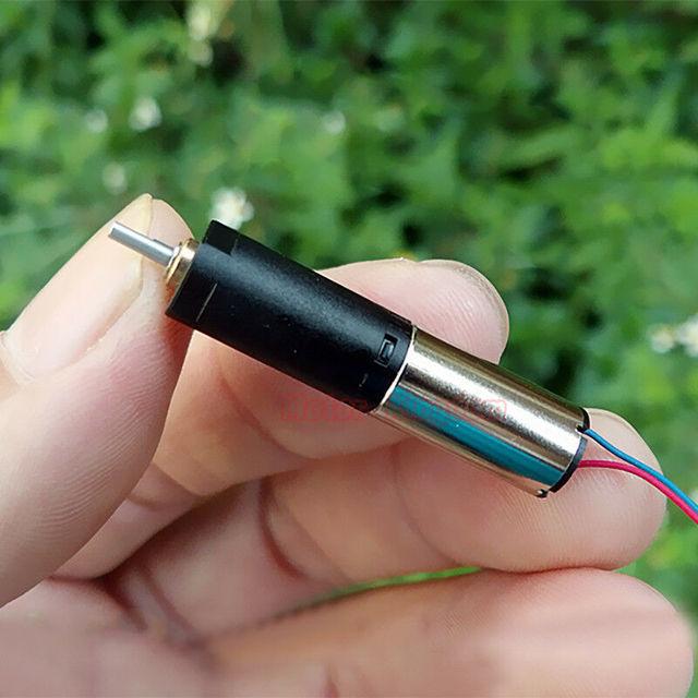 DC 3.7V Mini 8mm Coreless Motor Micro Gear Wheel Set Gear Reducer DIY Toy Model