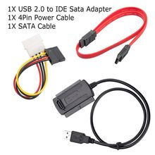 Professional Multi-function High-quality USB 2.0 Adapter Connector Converter Hard Disk Drive Cable