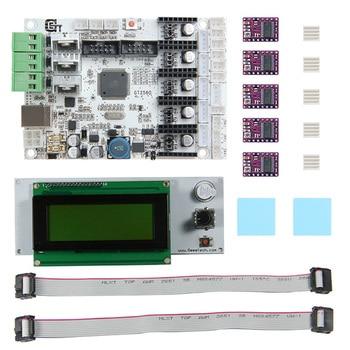 3D Printer Motherboard Kit GT2560 Controller Board DRV8825 Driver LCD 2004 AS99