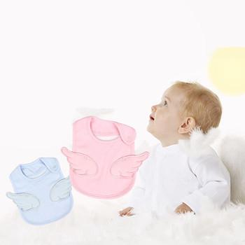 Śliniaki dla niemowląt śliniaki dla niemowląt śliniaki dla niemowląt śliniaczek dla niemowląt różowe skrzydła anioła śliniaczek dla niemowląt śliniaczek dla niemowląt tanie i dobre opinie GAOKE Moda Stałe Baby Bandana Bibs Unisex 13-18 M 4-6 M 7-9 M 19-24 M 10-12 M 0-3 M Poliester COTTON