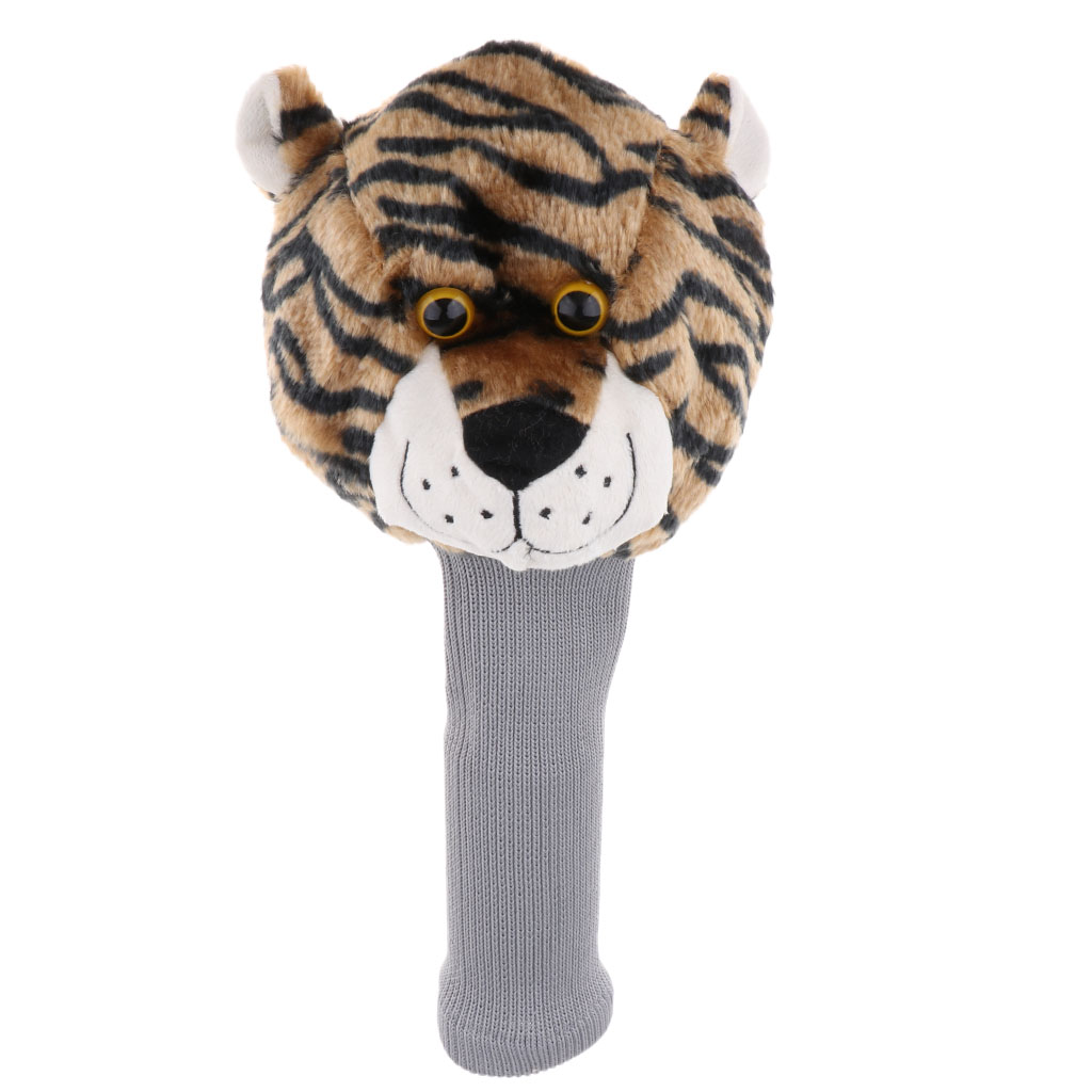 Tiger Golf Sports Club Covers Head Cover For Fairway No.3 5 Wood Headcovers -FULL PROTECTION