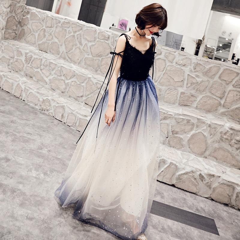 2019 Rushed Bridesmaid Vestido De Noiva Vestido De Festa New Dress Female Dust Fantasy Party Evening 2020 Spring Show Thin