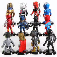 Set of 12 Avengers Collectible Figures  6