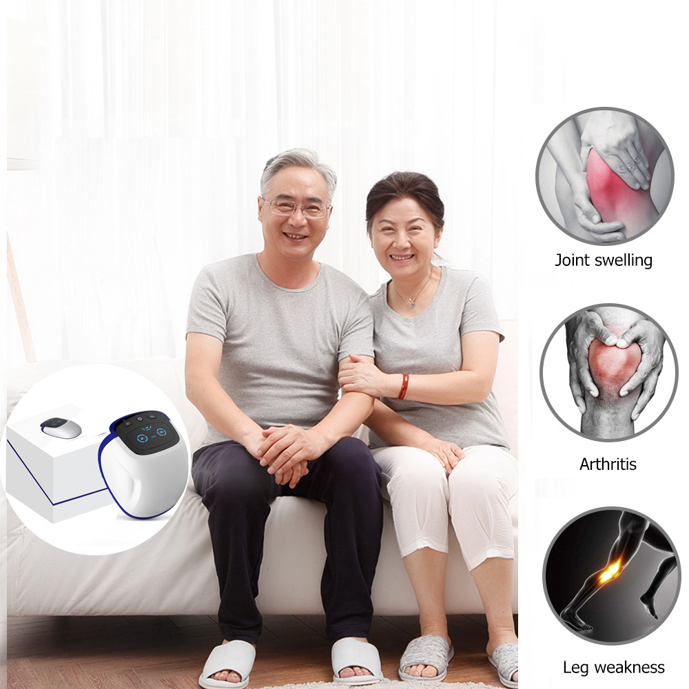 Laser Heated Air Massage Knee Physiotherapy With Three Temperature Modes