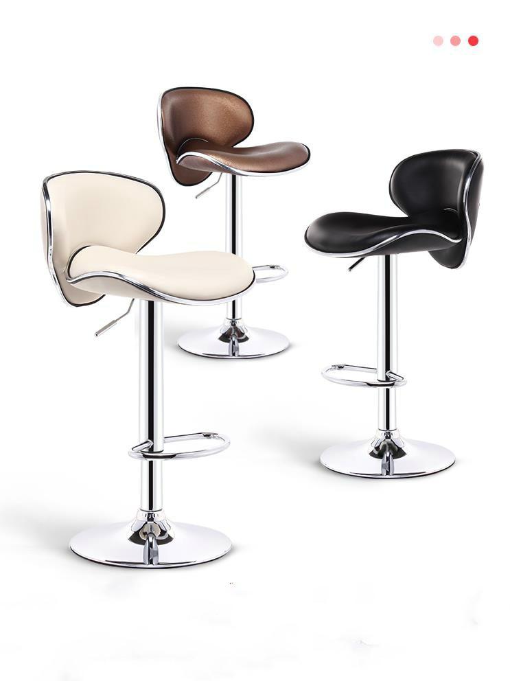 European Luxury Bar Chair Lift Chair Front Bar Stool Modern Minimalist Bar Chair Bar Stool High Back Stool