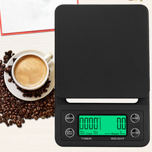 Multifunction Electronic Kitchen Scale Precise LED Food with Timer for Coffee Accessories Measuring Tool